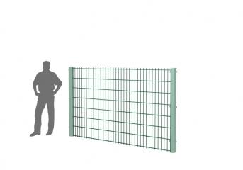 Панель оцинк. DVM2D SPORT+ 1530х2500, пруток 5.0/6.0мм, яч.50х200, ППRAL
