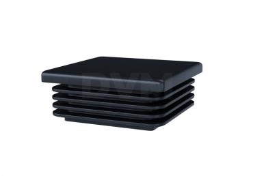 Заглушка пластиковая 80х80, черная